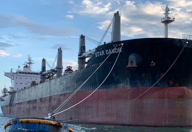 Griegmaas Received New Supramax, The Star Damon