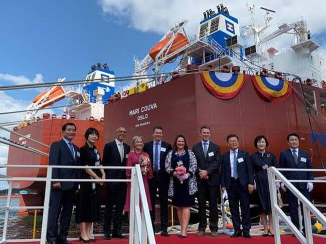 Industry Welcomes Second-generation Low Emission Methanol-fuelled Vessels
