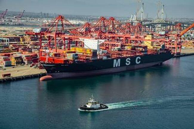 MSC Jewel Sets Record As Cleanest Container Ship To Travel U.S.