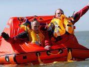 Two Crew Abandon Ship Into Survitec Liferaft In Successful Fishing Boat Evacuation