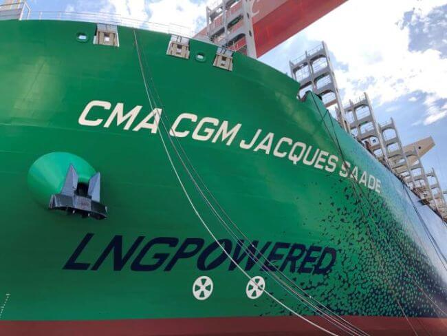 CMA CGM JACQUES SAADE_LNG POWERED_Septembre 2019