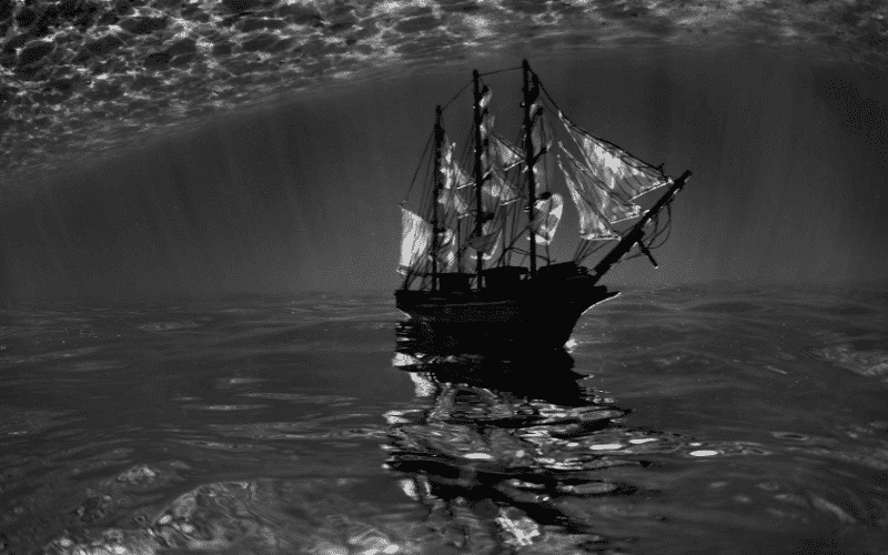 Flying dutchman ship