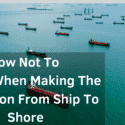 How Not To Choke When Making The Transition From Ship To Shore