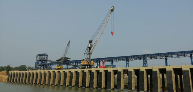 India second riverine Multi Modal terminal built Ganges