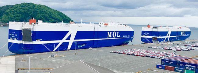 MOL PCTC Car Carrier
