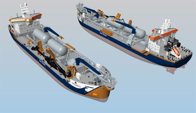 Innovative Wärtsilä LNG fuel storage and supply system to deliver multiple benefits for two new dredgers