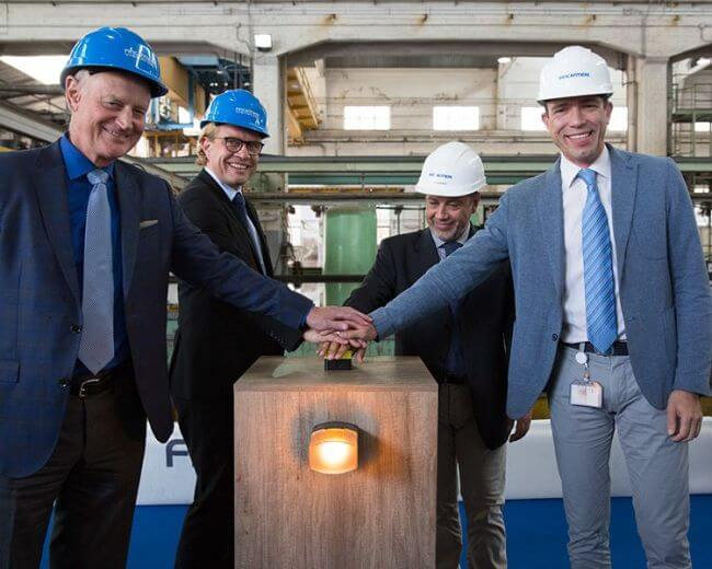 Windstar Cuts Steel For Second Star-Class Ship With Fincantieri_