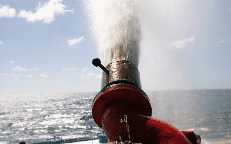 ship fire fighting equipment