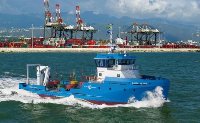Damen Port Authority of Jamaica (PAJAM) Utility Vessel 3911