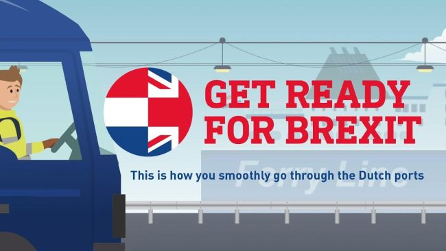 Get Ready for Brexit this is how you smoothly go through the Dutch ports
