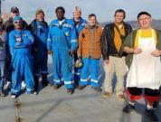 ITF seafarers saving crew award