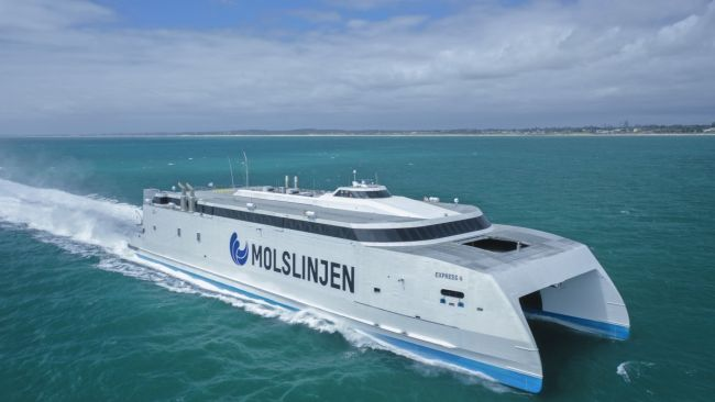 NEW 115 METRE HIGH SPEED CATAMARAN FOR MOLSLINJEN - LARGEST FERRY TO BE BUILT BY_AUSTAL