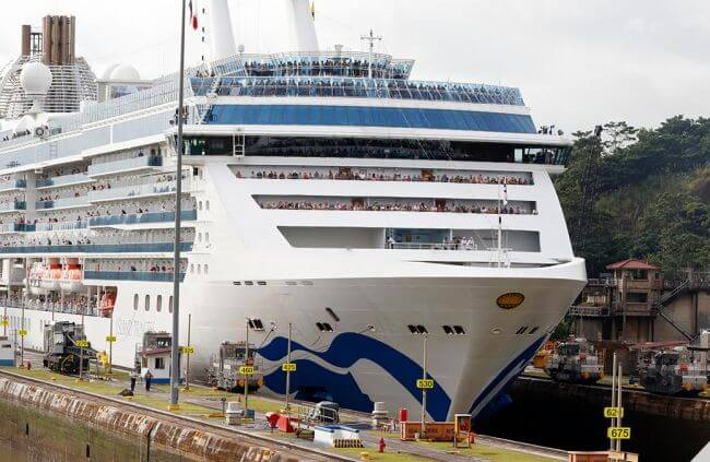 Princess Cruises_Panama Canal