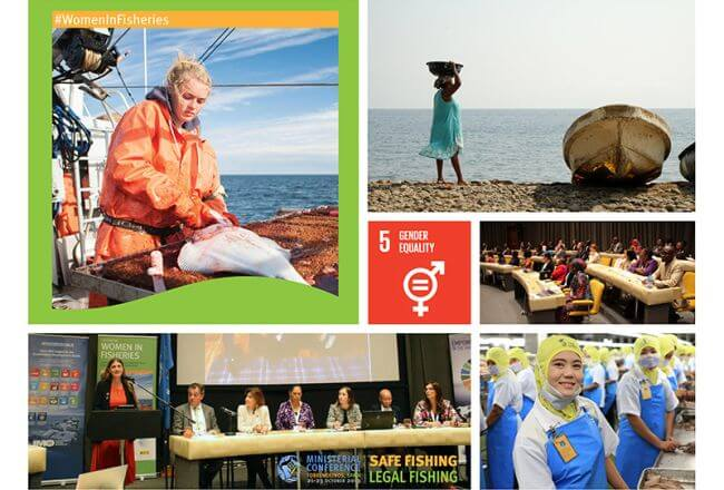 Recognising women in fisheries