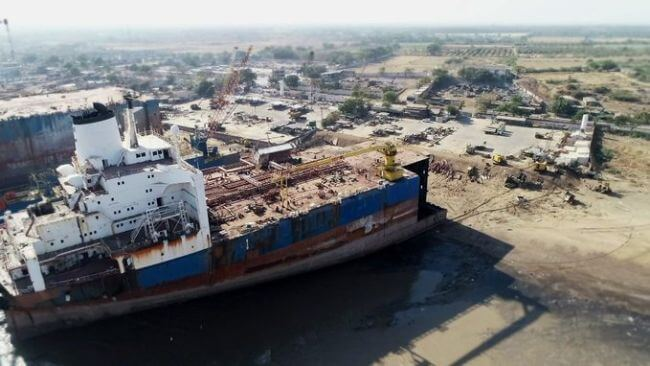 Shipbreaking Alang