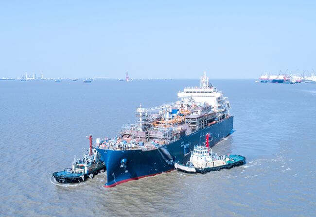 Total's Launches First LNG Bunker Vessel