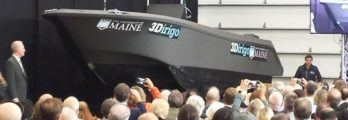 Watch Patrol Boat Printed From World's Largest 3D Printer