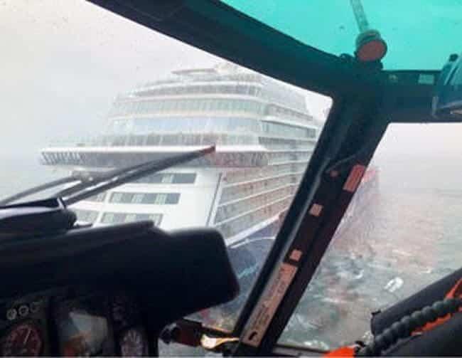 mein schiff cruise ship uscg medevac