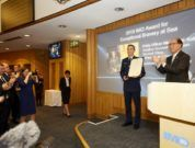 American rescuer who saved four recognized with IMO bravery accolade