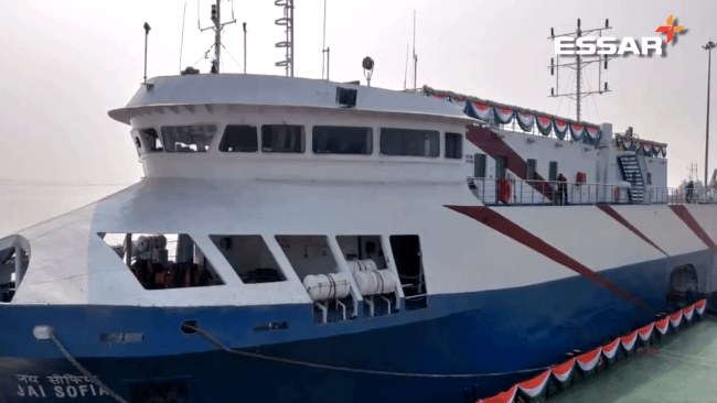 Essar port hazira ferry terminals
