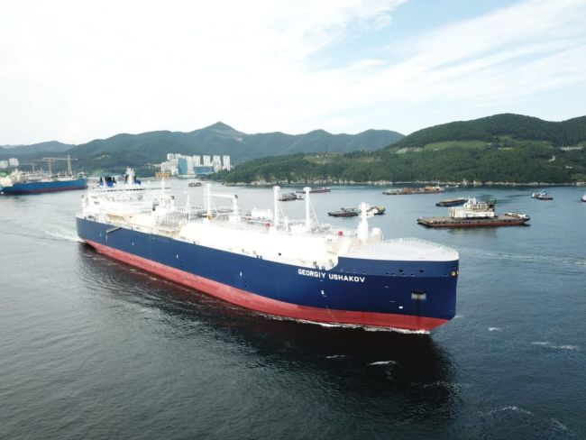 Five out of six Arc7 ice-breaking LNG newbuilds have delivered