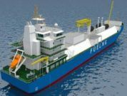 Fuel LNG Singapore first lng bunkering vessel kline