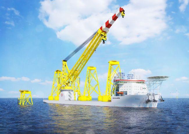 Jan De Nul Group - Offshore Installation Crane Vessel Les Alizés