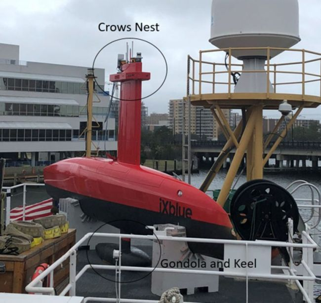 NOAA Ship Thomas Jefferson tests innovative DriX unmanned surface vehicle_crows nest