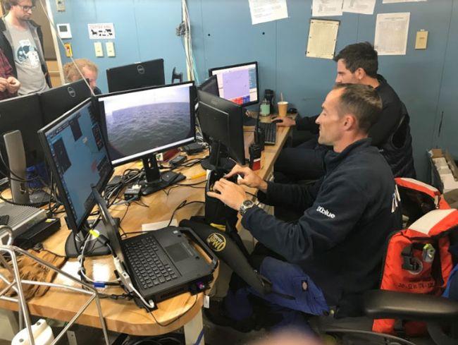 NOAA Ship Thomas Jefferson tests innovative DriX unmanned surface vehicle_operations