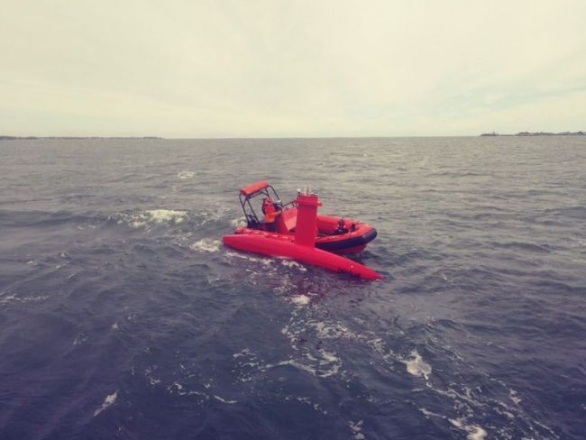 NOAA Ship Thomas Jefferson tests innovative DriX unmanned surface vehicle_test