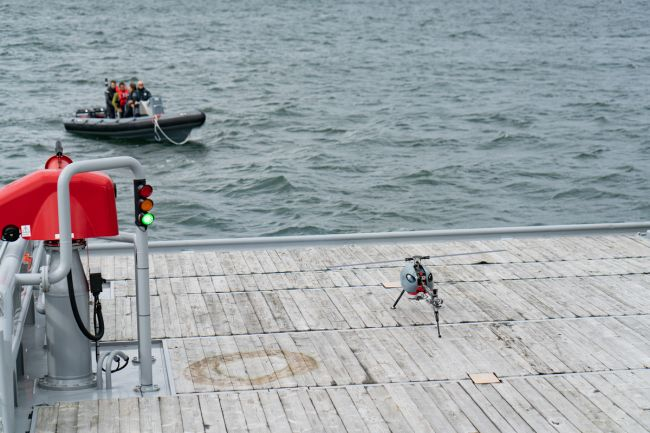 Qualification test in North Sea (4)