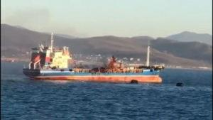 Russian Aframax Tanker Explosion
