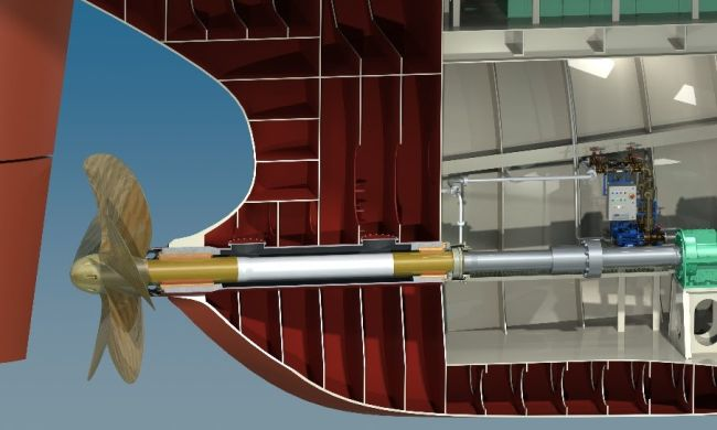Thordon Bearing_water propeller lubricant