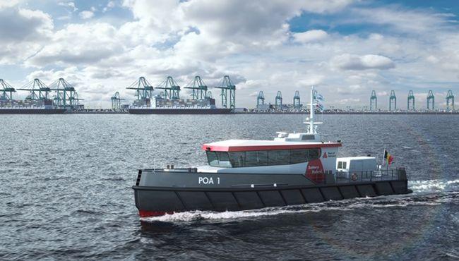 Kooiman builds two patrol vessels for Port of Antwerp