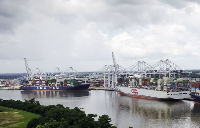 Port Savannah Marks Record Volumes With 468,400 TEUs Moved In October