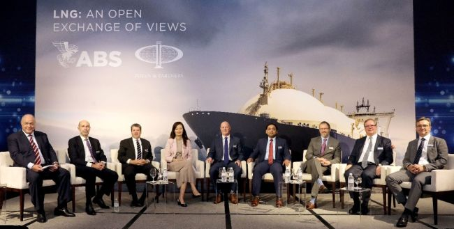 ABS and poten & partners lng discussion