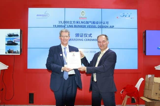 Bureau Veritas Provides AIP For 'Quadelprop' 19,000 cbm LNGBV Concept_
