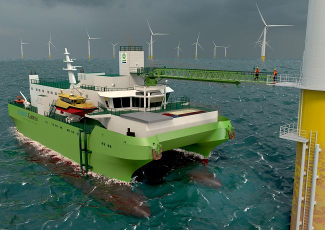 DEME Lays Keel Of First Dedicated Service Operation Vessel For Offshore Wind Farm Maintenance