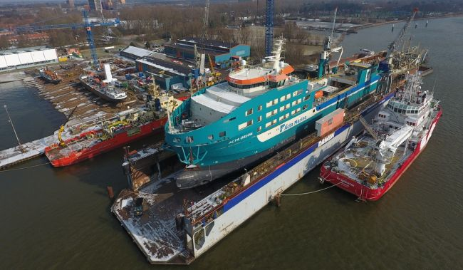 Damen Shiprepair Oranjewerf is celebrating 70 years