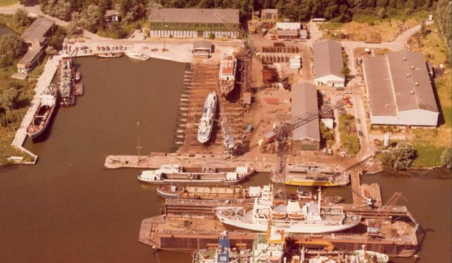 Damen Shiprepair Oranjewerf is celebrating 70-years