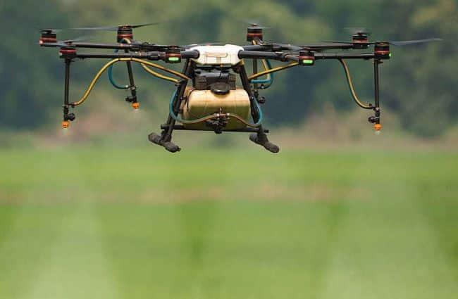 Drone Representation Image
