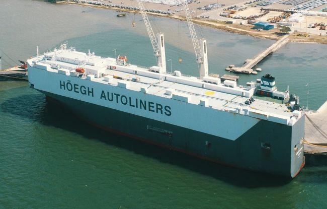 HOEGH vessels Cartagena taken by Miguel Alvarez