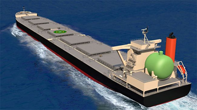 NYK And MOL Join Hands With Kyuden For World's First LNG-Fueled Large Coal Carrier_3
