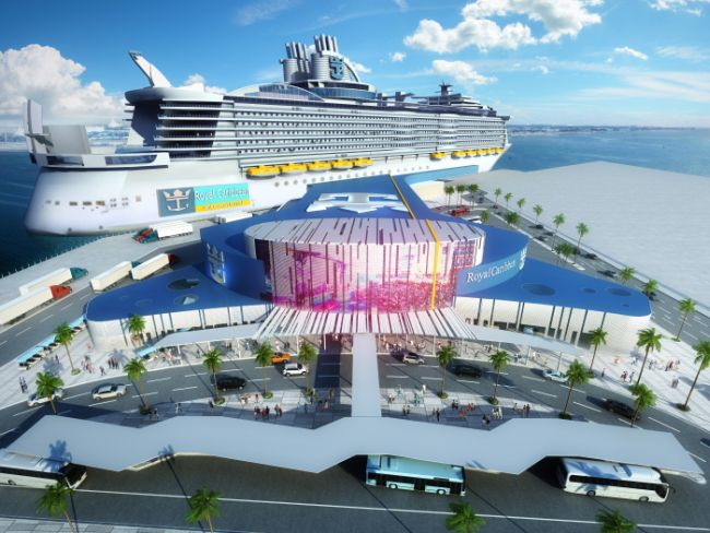 Royal Caribbean Cruises To Develop New State-Of-The-Art Terminal At Port Of Galveston