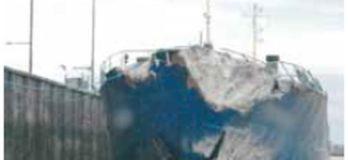 crashed ship
