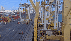 AAL Successfully Transports Six RTGs In Single Asia - US Crossing