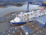 Carnival's Largest Cruise Ship Mardi Gras Floats Out At Meyer Turku Shipyard
