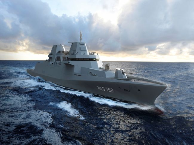 Damen Blohm + Voss and Thales, Multi-Purpose Combat Ship MKS 180
