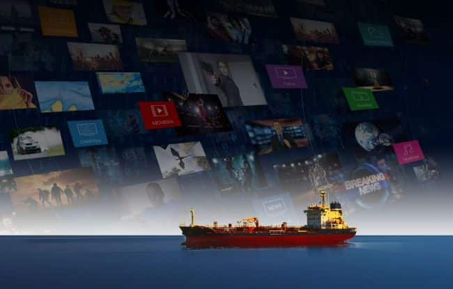KVH Launches New Digital Content Service For Seafarers and Commercial Fleets