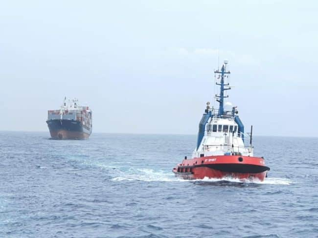 Kotug Provides Salvage Assistance To MV EM-OINOUSSES